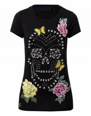 """Philipp Plein Skull T-Shirt """"PHYLLLIS"""""""