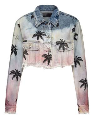 "Philipp Plein Denim Jacket ""ALOHA"""