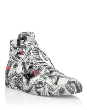 "Philipp Plein Sneakers ""DOLLAR"" Men's Shoes"