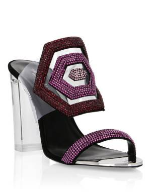 "Philipp Plein Women's Sandals ""HEXAGON"""