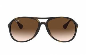 Ray-Ban Alex Gunmetal, Brown Lenses - RB4201
