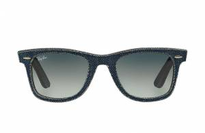 Ray-Ban Original Wayfarer Denim Blue, Gray Lenses - RB2140