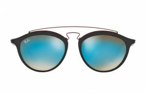Ray-Ban Rb4257 Gatsby II Black, Blue Lenses - RB4257