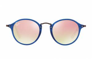 Ray-Ban Rb2447n Flat Lenses Brown, Pink Lenses - RB2447N