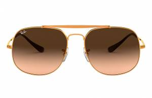 Ray-Ban General Bronze-Copper, Pink Lenses - RB3561