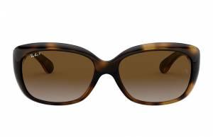 Ray-Ban Jackie Ohh Tortoise, Polarized Brown Lenses - RB4101