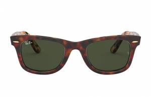 Ray-Ban Original Wayfarer @collection Tortoise, Green Lenses - RB2140