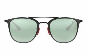 Ray-Ban Scuderia Ferrari Collection Rb3601m Black, Gray Lenses - RB3601M