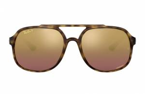 Ray-Ban Rb4312 Chromance Tortoise, Polarized Violet Lenses - RB4312CH