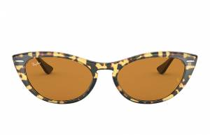 Ray-Ban Nina Black, Yellow Lenses - RB4314N