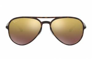 Ray-Ban Rb4320 Chromance Tortoise, Polarized Violet Lenses - RB4320CH