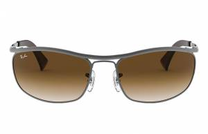 Ray-Ban Olympian Gunmetal, Brown Lenses - RB3119