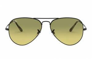Ray-Ban Rb3689 Washed Evolve Black, Yellow Lenses - RB3689