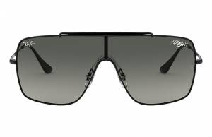 Ray-Ban Wings II Black, Gray Lenses - RB3697