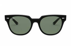 Ray-Ban Blaze Meteor Black, Green Lenses - RB4368N