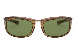 Ray-Ban Olympian I Tortoise, Green Lenses - RB2319