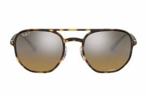Ray-Ban Rb4321 Chromance Tortoise, Polarized Brown Lenses - RB4321CH