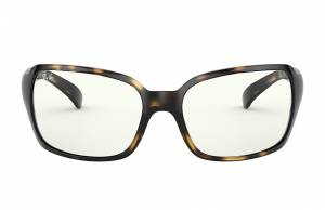 Ray-Ban Rb4068 Clear Shiny Havana, Clear Lenses - RB4068