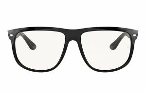 Ray-Ban Rb4147 Clear Shiny Black, Clear Lenses - RB4147