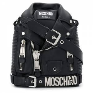 "Moschino Biker Backpack ""Leather Jacket"""