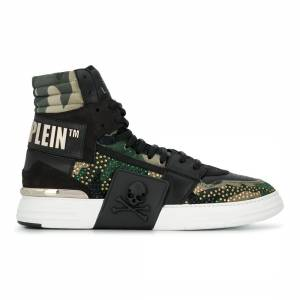 "Philipp Plein Men's Sneakers ""Camouflage"""