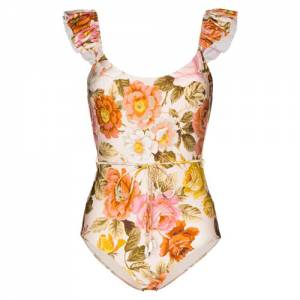 "Zimmermann Swimsuit ""Bonita Frill"""