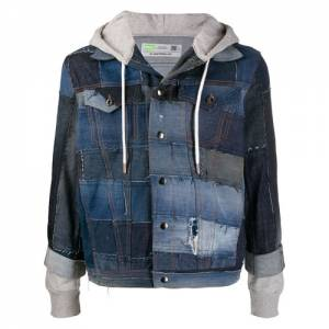 "Diesel Patchwork Denim Jacket ""D-OWNHILL55"""