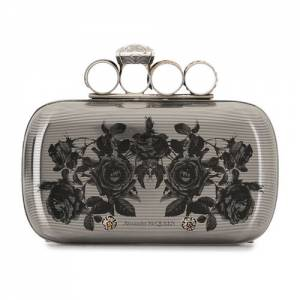 "Alexander McQueen Bag ""Goth Rings Clutch"""