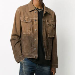 "Diesel Men's Denim Jacket ""Ombré"""