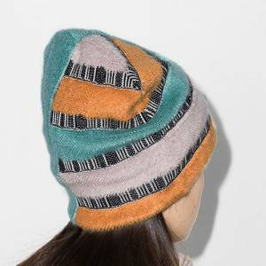 Missoni Striped Knit Beanie Hat