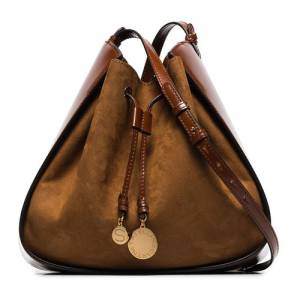 "Stella McCartney Bucket Bag ""Cognac"""