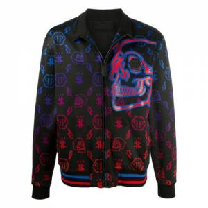 "Philipp Plein Men's Jacket ""Monogram"""