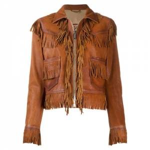 Dsquared2 Women's Fringed Leather Jacket