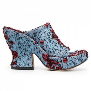 "Bottega Veneta Sandals ""Bouclé Mules"""