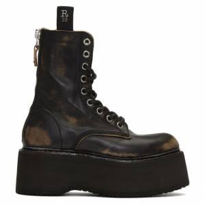 R13 Platform Combat Boots
