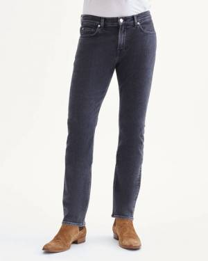 7 For All Mankind Cashmere Denim Slimmy in Castle Black
