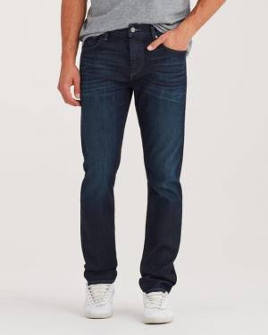 7 For All Mankind Airweft Denim Slimmy in Perennial