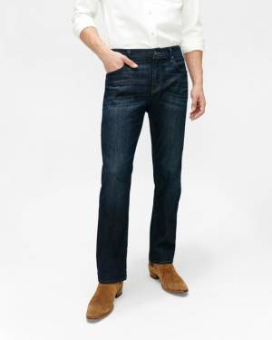 7 For All Mankind Airweft Denim Standard in Perennial