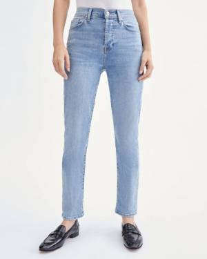 7 For All Mankind Josefina with Crystal Squiggle Back Pocket in Saratoga