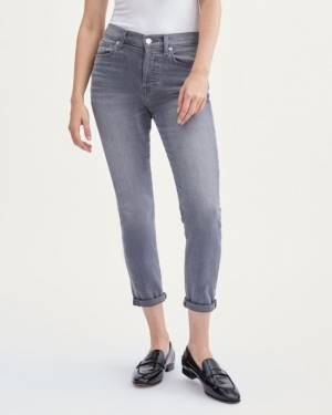 7 For All Mankind Luxe Vintage Josefina in Cher Grey