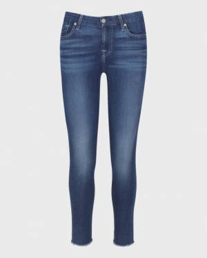 7 For All Mankind B(air) Mid Rise Ankle Skinny in Duchess