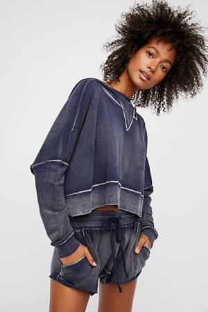 Free People The Morning Run Shorts Set