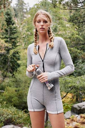 Free People FP Movement Fitness Express Onesie