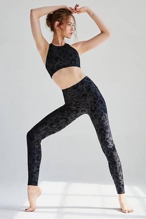 Onzie Fitness Flocked Workout Legging