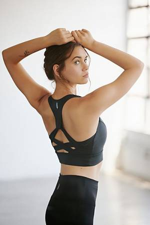 "Free People Workout Crop Top ""Light Synergy"""