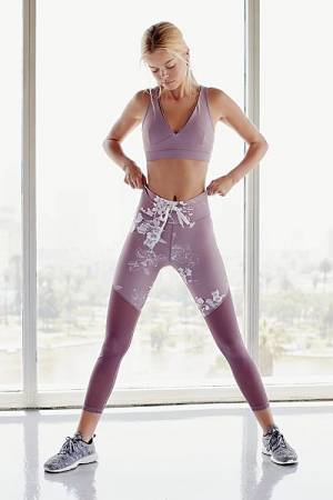 "All Fenix Workout 7/8 Legging ""Lyla Rose"""