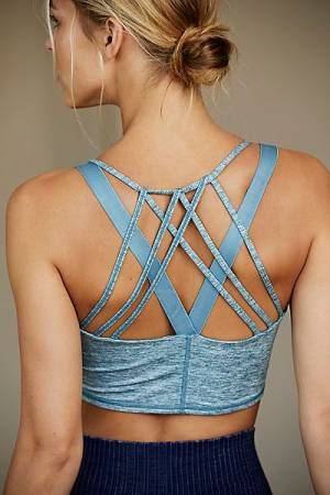 "FP Movement Workout Top ""Blue Mantra"""