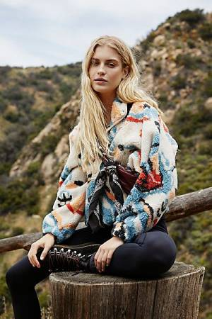 "Free People Activewear ""Hit The Slopes Jacket"""