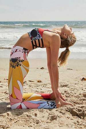 "Onzie Workout Leggings ""Flower Child"""