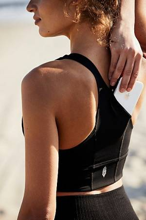 "Free People Sports Bra ""Hold My Phone"""